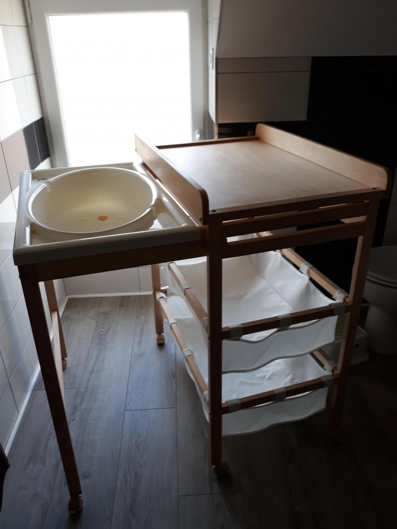 Table à Langer Combinée Roba Avis