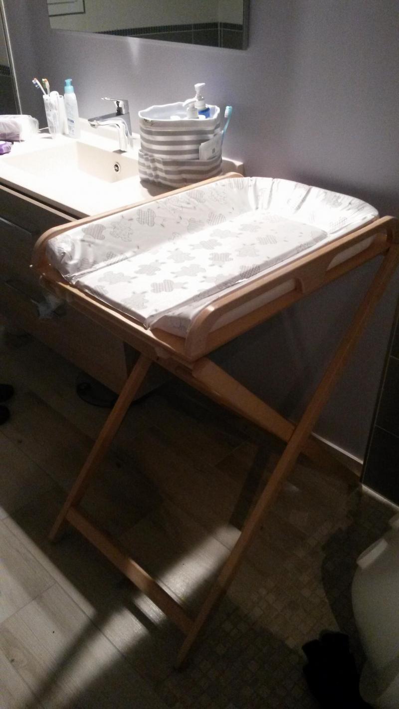 Table à Langer Pliante Jade Combelle Avis