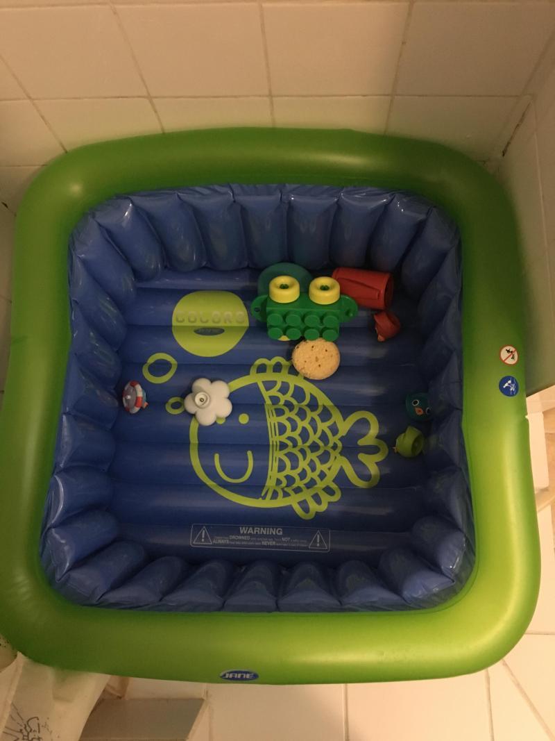 Baignoire de douche gonflable jane avis - Comment transformer une baignoire en douche ...