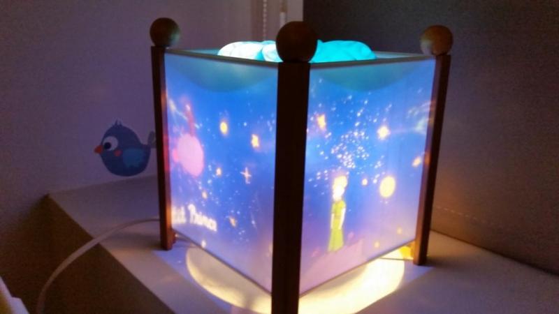 Photos lanterne magique trousselier par bibinoute consobaby for Lampe de chevet a pince