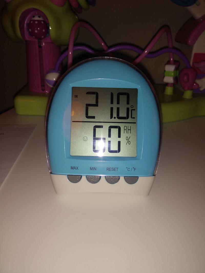 Thermom tre b b hygrom tre d 39 int rieur lbs medical avis - Thermometre interieur precis ...