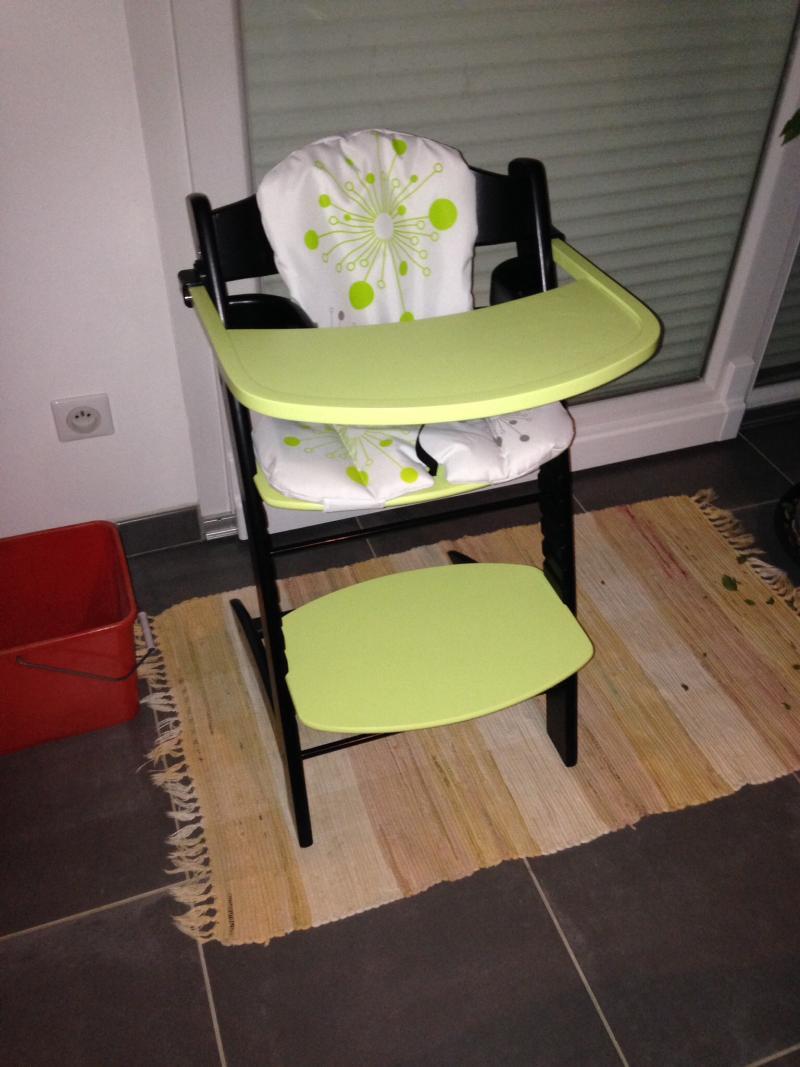 Photos chaise haute evolutive badabulle par louise281114 for Badabulle chaise haute
