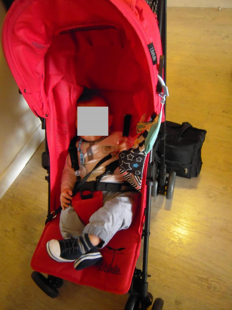 poussette bebe 7 mois