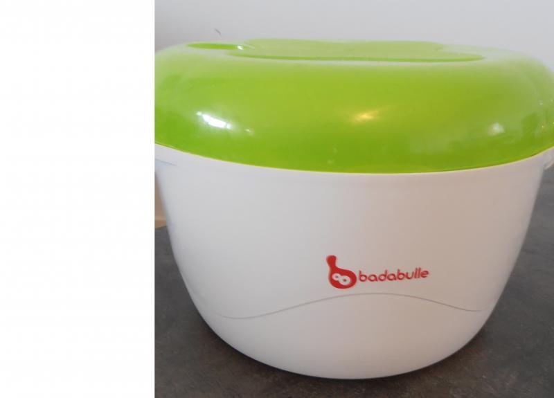 sterilisateur biberon badabulle