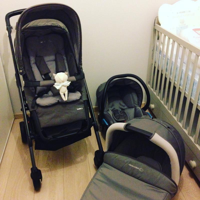 Trio loola excel bebe confort avis for Housse pour poussette
