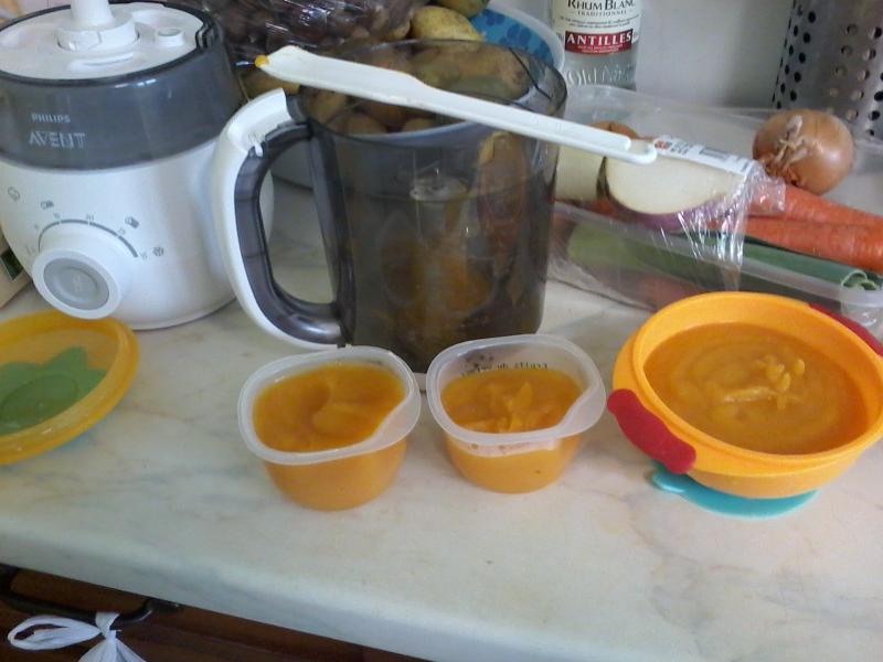 Robot cuiseur mixeur 4 en 1 pour b b scf875 avent philips avis - Cuiseur soupe philips ...