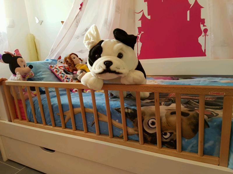 barri re de lit pliante en bois combelle avis. Black Bedroom Furniture Sets. Home Design Ideas