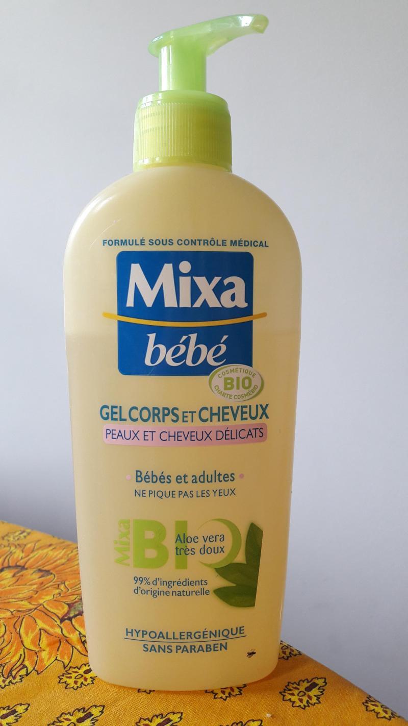 gel corps et cheveux bio 250 ml mixa bebe avis. Black Bedroom Furniture Sets. Home Design Ideas