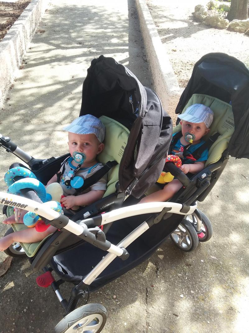 poussette double s-twinner lapis lazuli