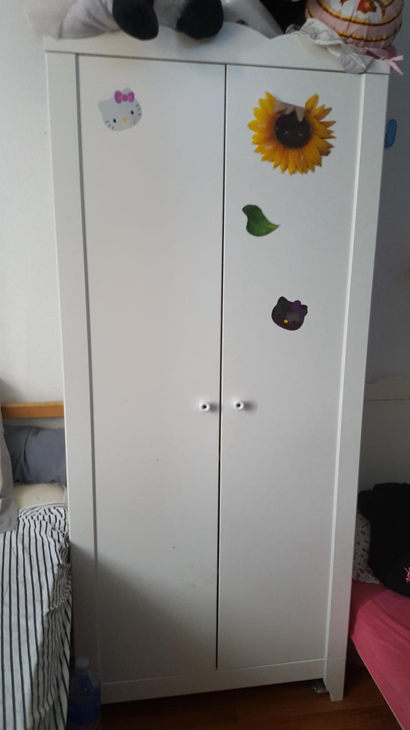 ikea armoire hensvik perfect this crib wardrobe and changing table are part of the hensvik. Black Bedroom Furniture Sets. Home Design Ideas