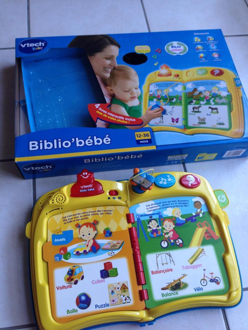 Biblio Bebe Vtech Avis Et Comparateur De Prix