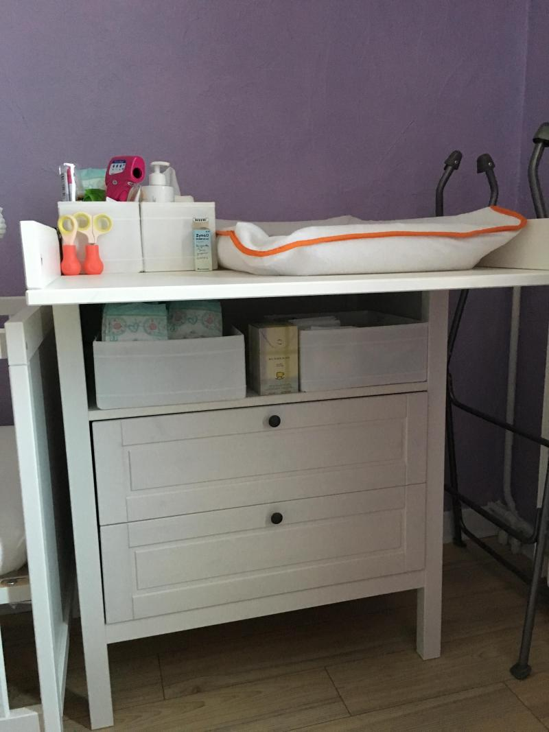 Plan a langer ikea affordable table langer commode ikea for Chambre bebe ikea