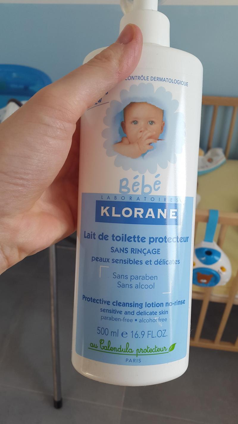 lait de toilette protecteur klorane avis
