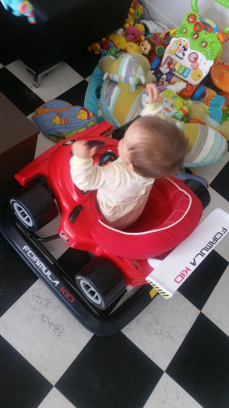 Trotteur bébé formula kid JANE : Avis