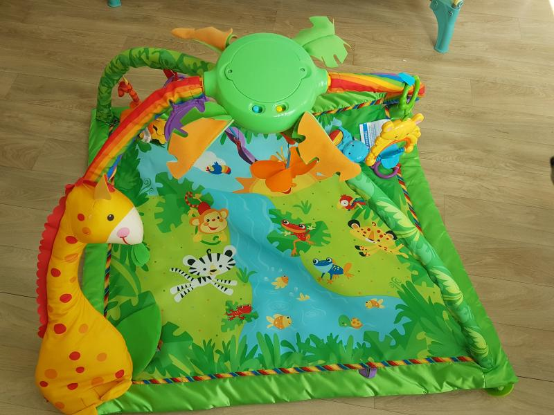 Tapis du0026#39;u00e9veil jungle FISHER PRICE : Avis