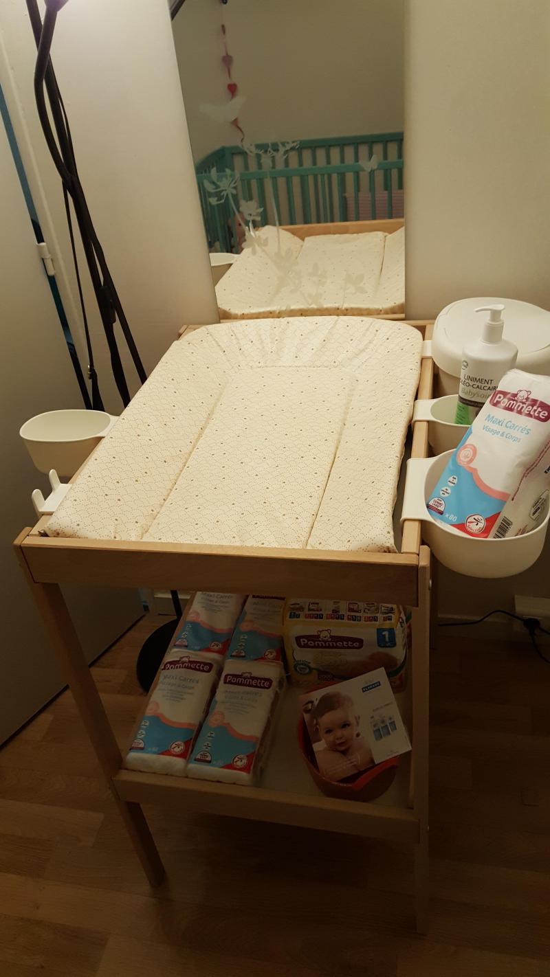 Corbeilles pour table langer nsklig ikea avis page 2 - Corbeille table a langer ...