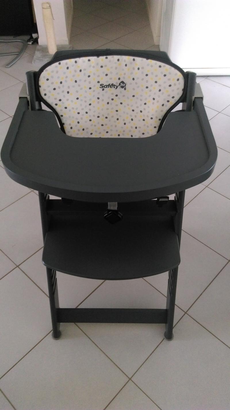 Chaise Haute Timba SAFETY 1ST Avis