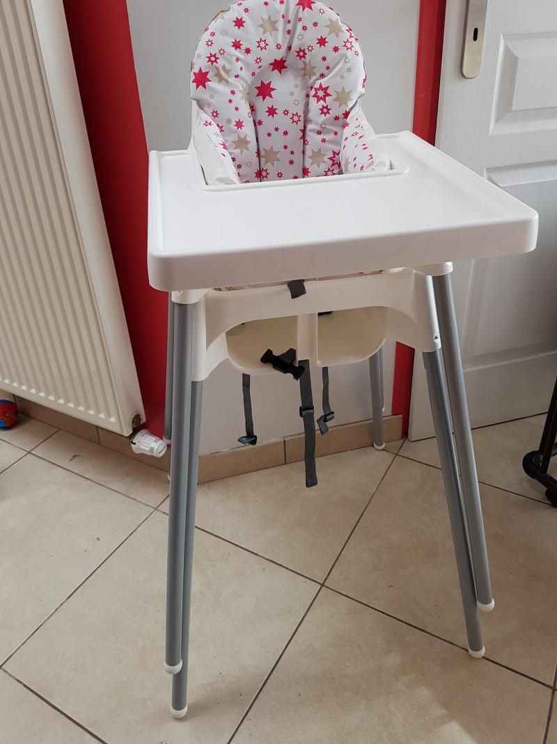 chaise haute avec ceinture antilop ikea avis. Black Bedroom Furniture Sets. Home Design Ideas