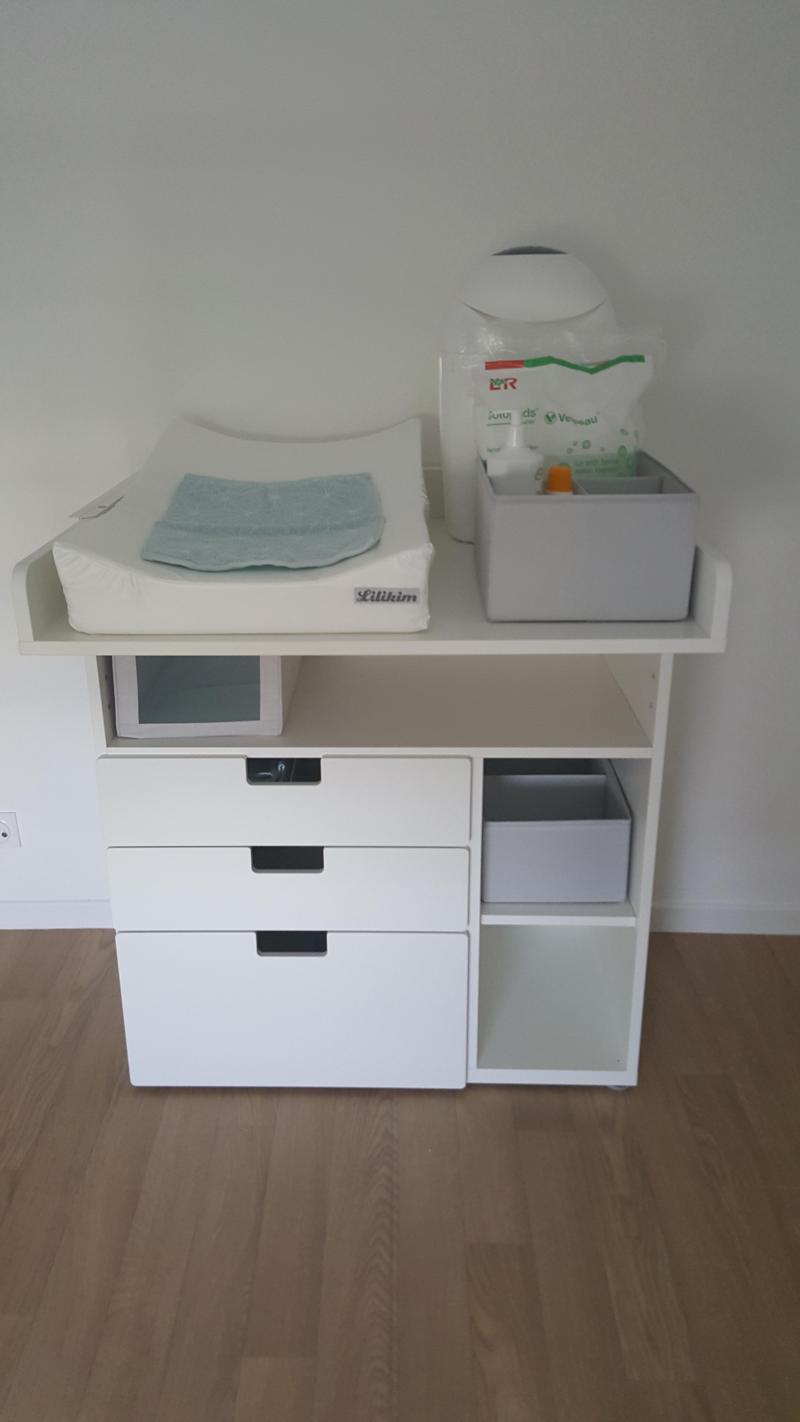 Table langer volutive stuva ikea avis - Commode a langer ikea ...