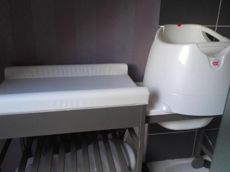 Si ge de bain opla babysun nursery avis - Babysun nursery table a langer ...