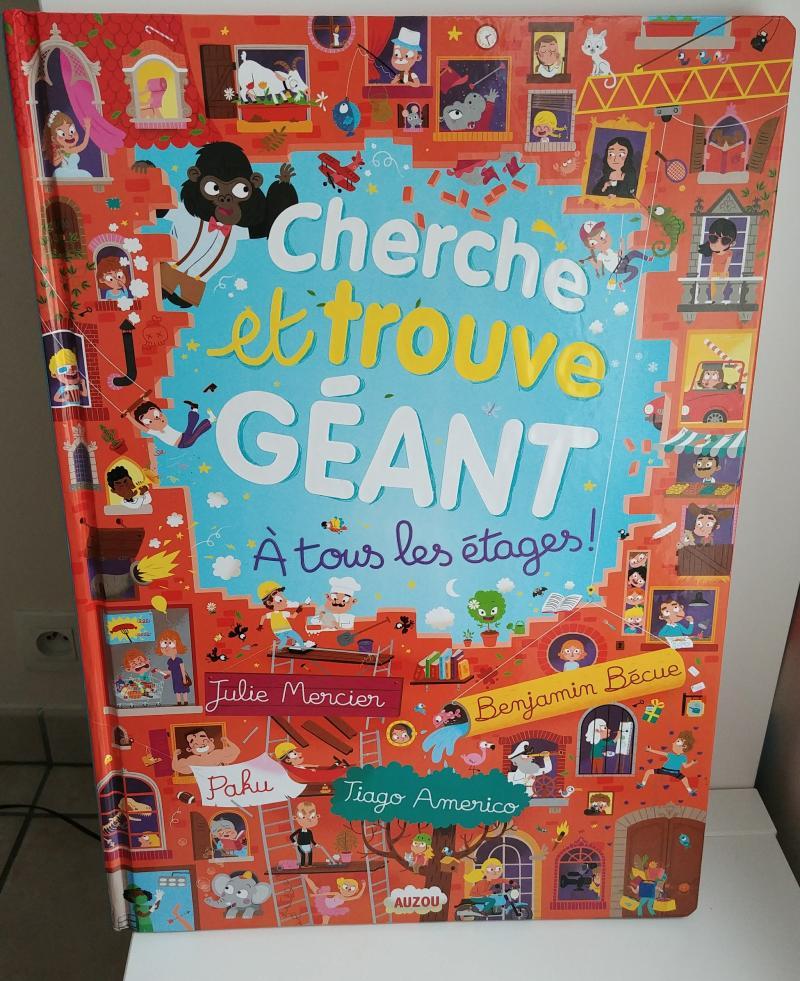 Cherche Et Trouve Geant Au Pays Des Contes Editions Auzou