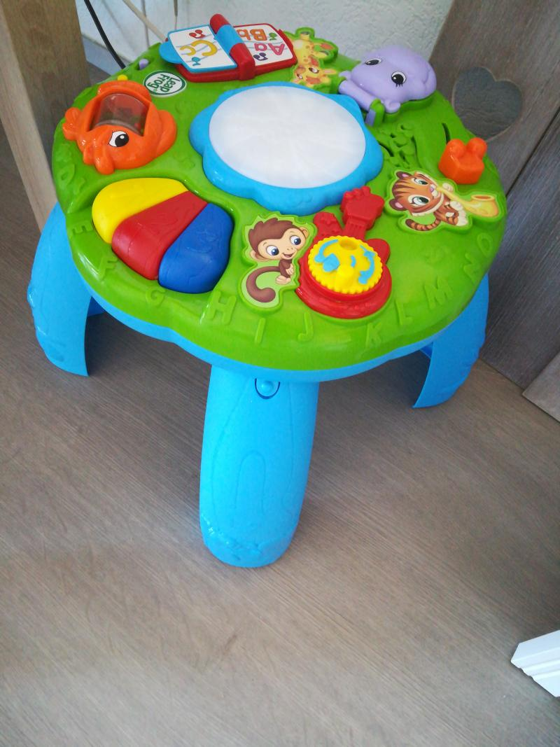 Table d 39 veil musical des animaux leapfrog avis - Table d activite leapfrog ...