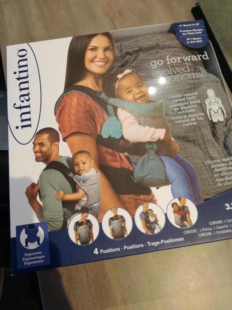 Porte-bébé Go Forward INFANTINO BKIDS   Avis ad8c6570587