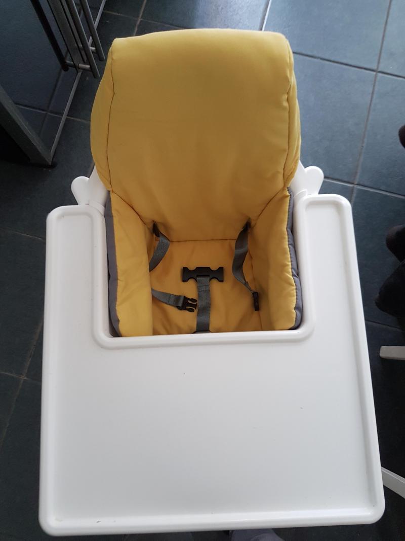 Chaise haute avec ceinture Antilop IKEA : Avis page 3
