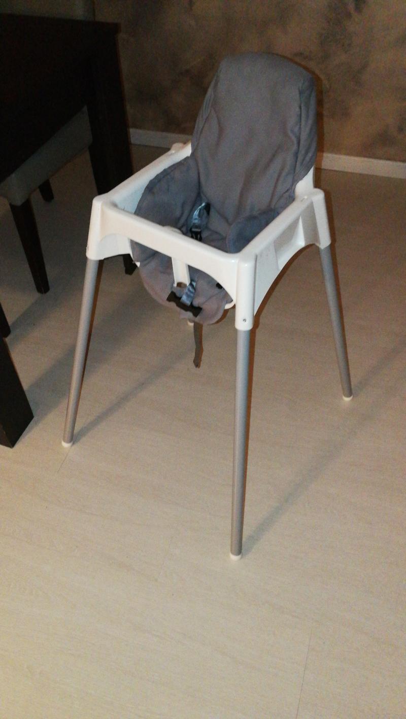 Chaise haute avec ceinture Antilop IKEA : Avis - page 7