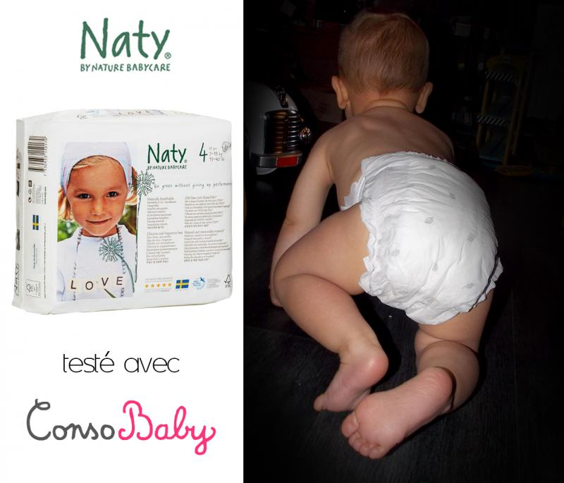 Couches Naty Ecologiques Taille 4 Nature Babycare Avis Page 2