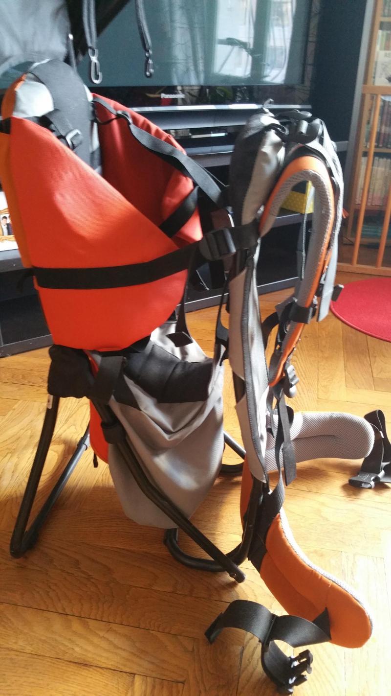 Porte bébé Kid Comfort Plus DEUTER : Avis