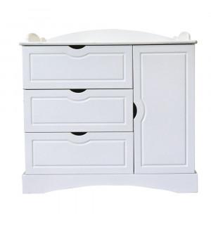 natalys pimprenelle commode table de lit a roulettes. Black Bedroom Furniture Sets. Home Design Ideas