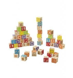 jeu de 50 cubes en bois natural cuboland imaginarium avis. Black Bedroom Furniture Sets. Home Design Ideas