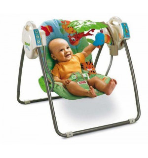 4d9aeb578d5e0 49. Balancelle transportable de la jungle FISHER PRICE   ♥