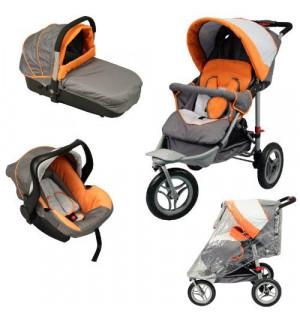 poussette 3 roues combin trio 3 en 1 bebe achat avis. Black Bedroom Furniture Sets. Home Design Ideas