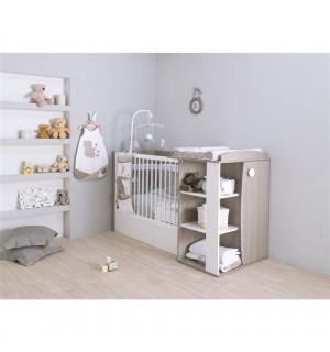 lit compact transformable bebe lune avis. Black Bedroom Furniture Sets. Home Design Ideas