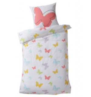 linge de lit enfant parure papillons vertbaudet avis. Black Bedroom Furniture Sets. Home Design Ideas