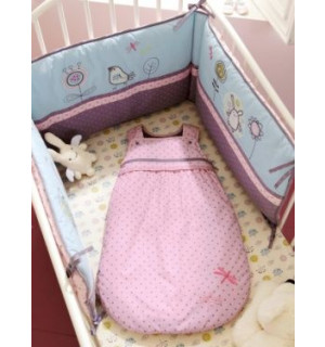 tour de lit bebe brode libellule vertbaudet avis. Black Bedroom Furniture Sets. Home Design Ideas