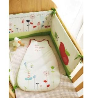tour de lit jardin d ete bebe vertbaudet avis. Black Bedroom Furniture Sets. Home Design Ideas