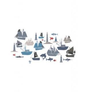 29 stickers theme pirate chambre garcon vertbaudet avis for Chambre garcon vertbaudet