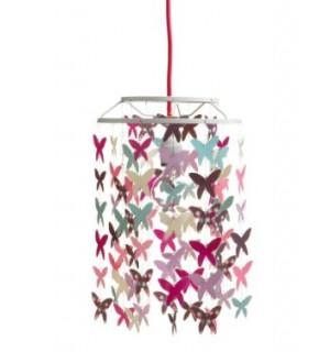 decoration abat jour papillons fille vertbaudet avis. Black Bedroom Furniture Sets. Home Design Ideas