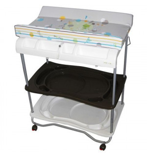 Table langer atlantis avec baignoire comptine avis for Table a langer atlantis