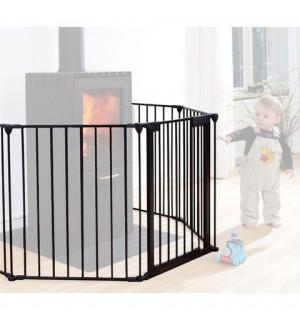 barri re pare feu en m tal avec portillon at4 avis. Black Bedroom Furniture Sets. Home Design Ideas