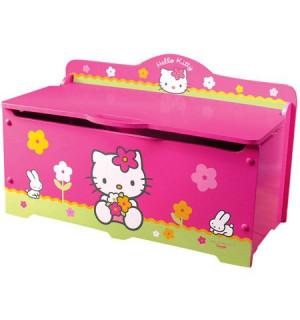 Coffre à jouets Hello Kitty FUN HOUSE : Avis et comparateur