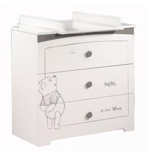 Commode 3 tiroirs adorable pooh sauthon avis - Commode a langer sauthon ...