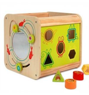 Cube d 39 activit s bois nature enchant e nature for Cuisine en bois nature et decouverte