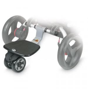 planche a roulettes surfer 3 pour poussette rider trider. Black Bedroom Furniture Sets. Home Design Ideas