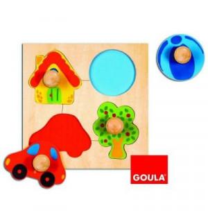 encastrement puzzle 4 pi ces en bois couleur goula avis. Black Bedroom Furniture Sets. Home Design Ideas