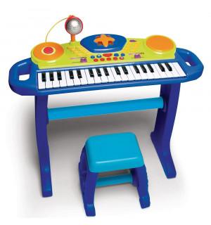 clavier lectronique lumineux avec si ge bruin toys r us avis. Black Bedroom Furniture Sets. Home Design Ideas