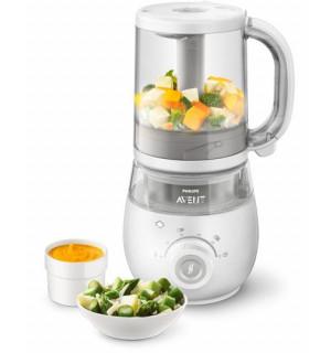 Robot cuiseur mixeur 4 en 1 pour b b scf875 avent philips for Robot cuisine pour bebe